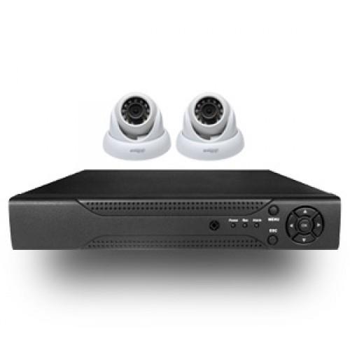 Аналоговый комплект 2 камеры